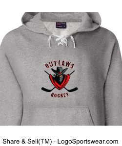 Weatherproof Hooded Hockey Sweatshirt Design Zoom